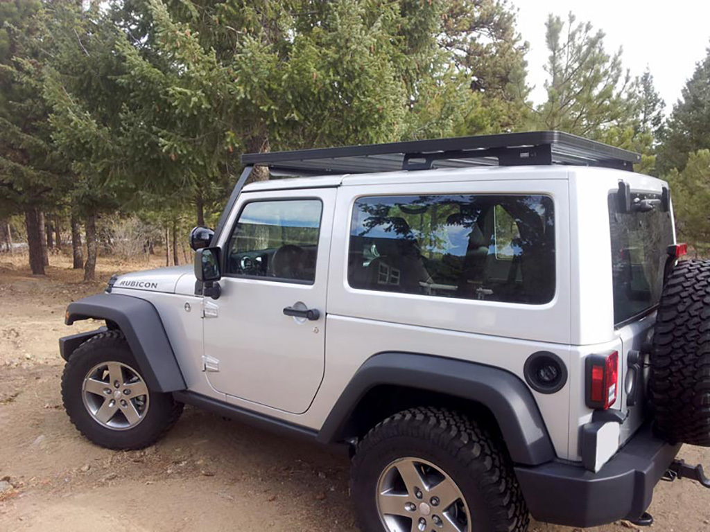 Slimline Ii Roof Rack For Jeep Jk 3 Door Front Runner