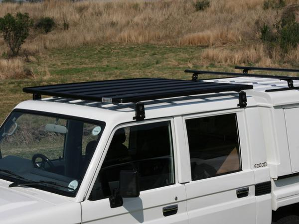 Land Cruiser 70 >> Eeziawn K9 Roof Rack suit Toyota LC 79 Dual Cab Ute 1.6m long, including gutter mount legs ...