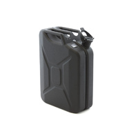20l Jerry Can - Matte Black Steel Finish
