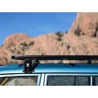 Eeziawn K9 Roof Rack suit Toyota Landcruiser 80 Wagon 2.2m long, including gutter mount legs