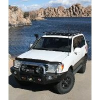 Eeziawn K9 Roof Rack suit Toyota Landcruiser 100 Wagon 2.2m long, track mount assembly