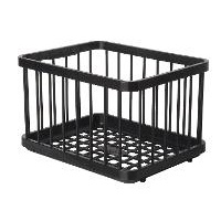 National Luna Basket Set for 90 ltr fridge, includes 2 ABS plastic baskets for freezer bin and 3 ABS plastic baskets for fridge bin