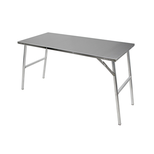 Table Stainless Steel with Aluminium legs