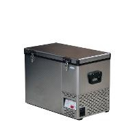 NEW National Luna 55 Lt High Performance Fridge-Freezer Stainless Steel including 5 Plastic Baskets