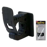 Heavy Duty Rubber Clamps - QF60C - Quick Fist Clamp 25-57mm (each)